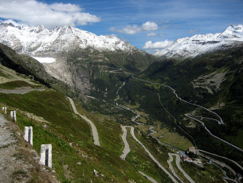 Wind Your Way Along the Furka Pass Obergoms  Switzerland