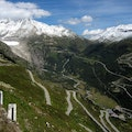 Furka Pass Oberwald  Switzerland