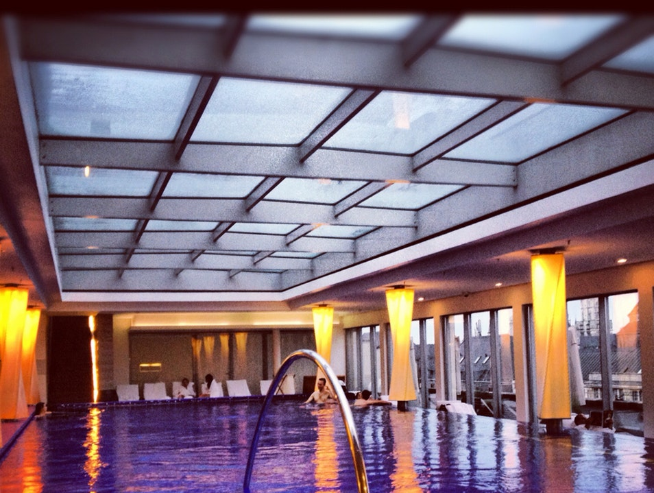 Enjoy a Spa Day and Swim in a Rooftop Pool