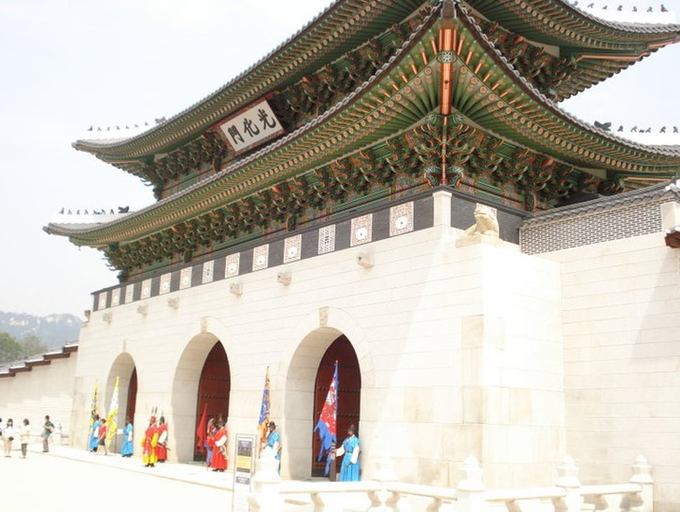 Palace Hopping in Korea's Capital Seoul  South Korea