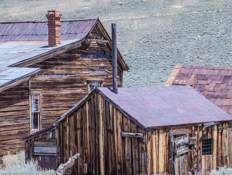 Bodie - Remains of a Gold Mining Town