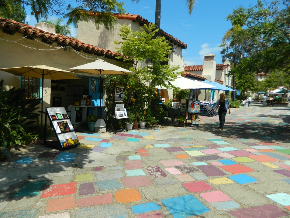 Stroll through a Working Artist Community San Diego California United States