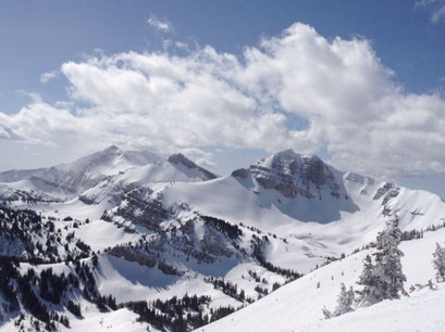 Top Of Tram, Jackson Hole Mountain Resort Teton Village Wyoming United States