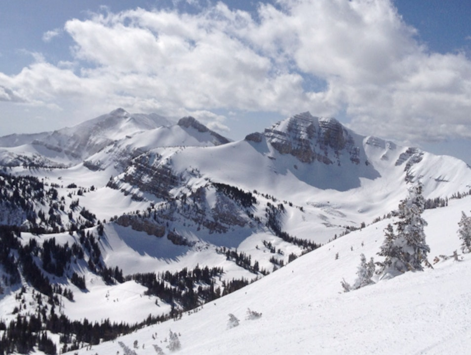 The View From The Top Of Jackson Hole Resort