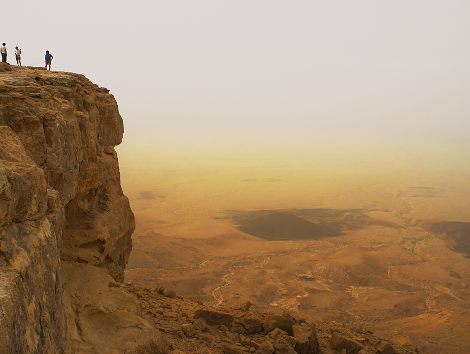 Watching the Sunrise and Sunset from Masada