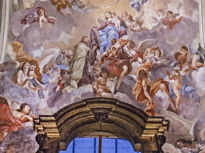 Brancacci Chapel Florence  Italy