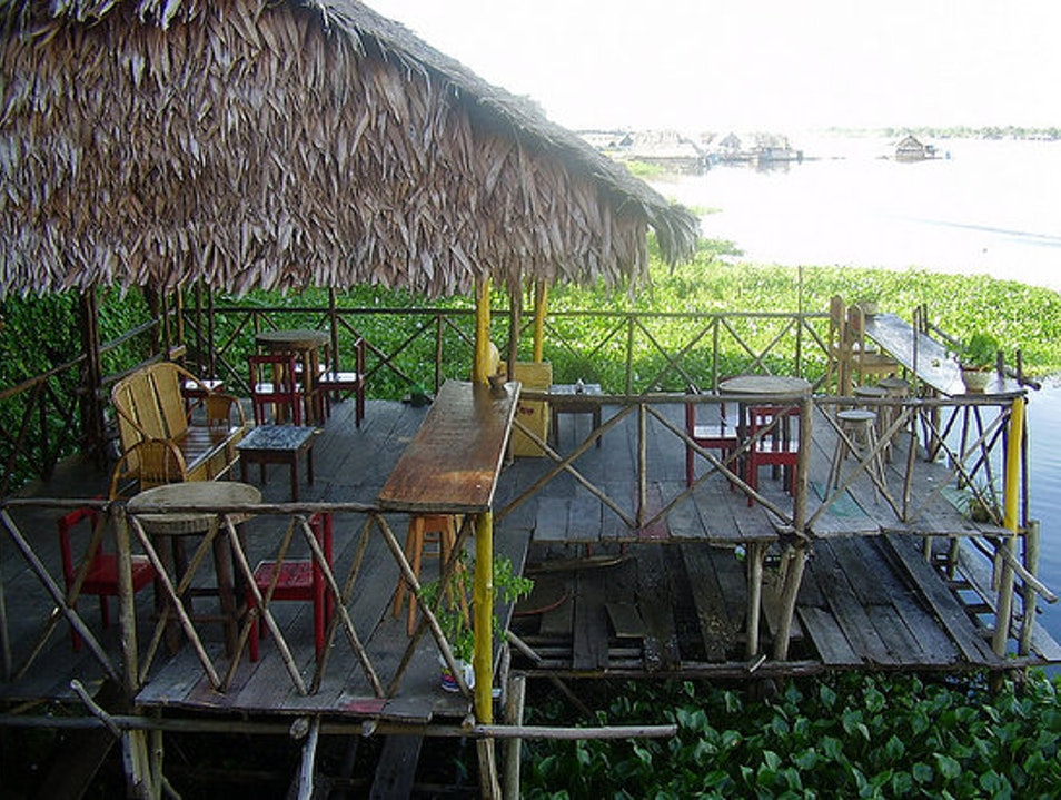 Exotic Jungle drinks in Iquitos Iquitos  Peru