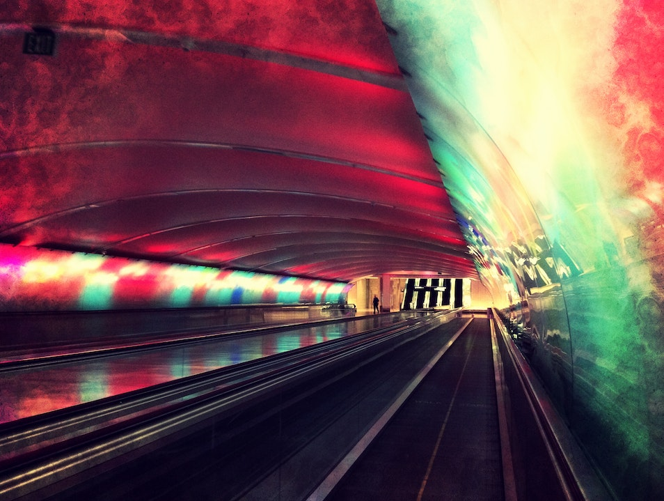 Take a Trip through the Trippy Tunnel Detroit Michigan United States