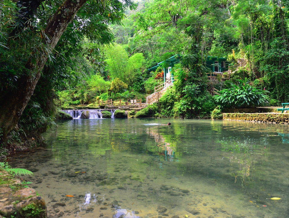 Escape into nature at Irie River Park Saint Ann Parish  Jamaica