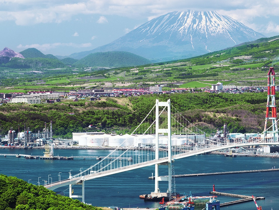 Hakucho Bridge Muroran  Japan