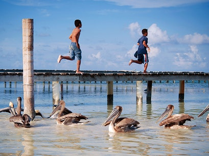 Caye Caulker and Ambergris Caye Belize District  Belize
