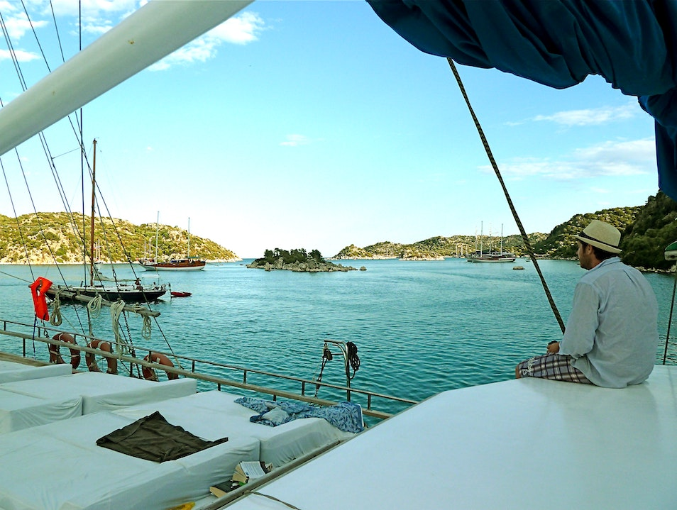 Gulet Sailing Cruise in Turkey Fethiye  Turkey