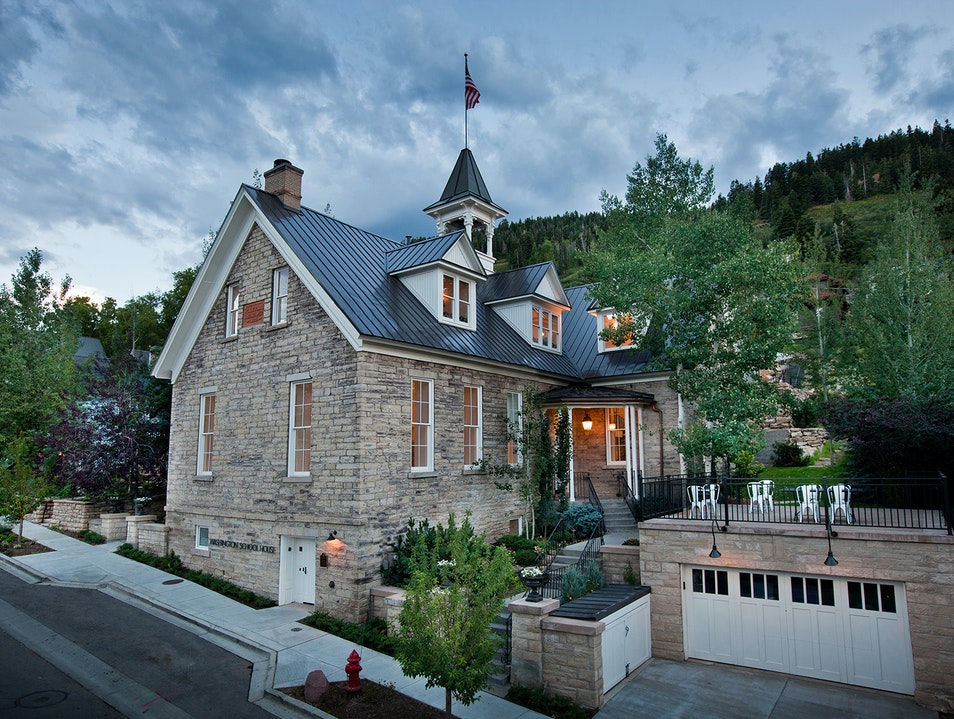 Washington School House Hotel Coalville Utah United States
