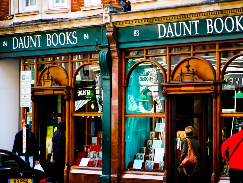 Daunt Books, London