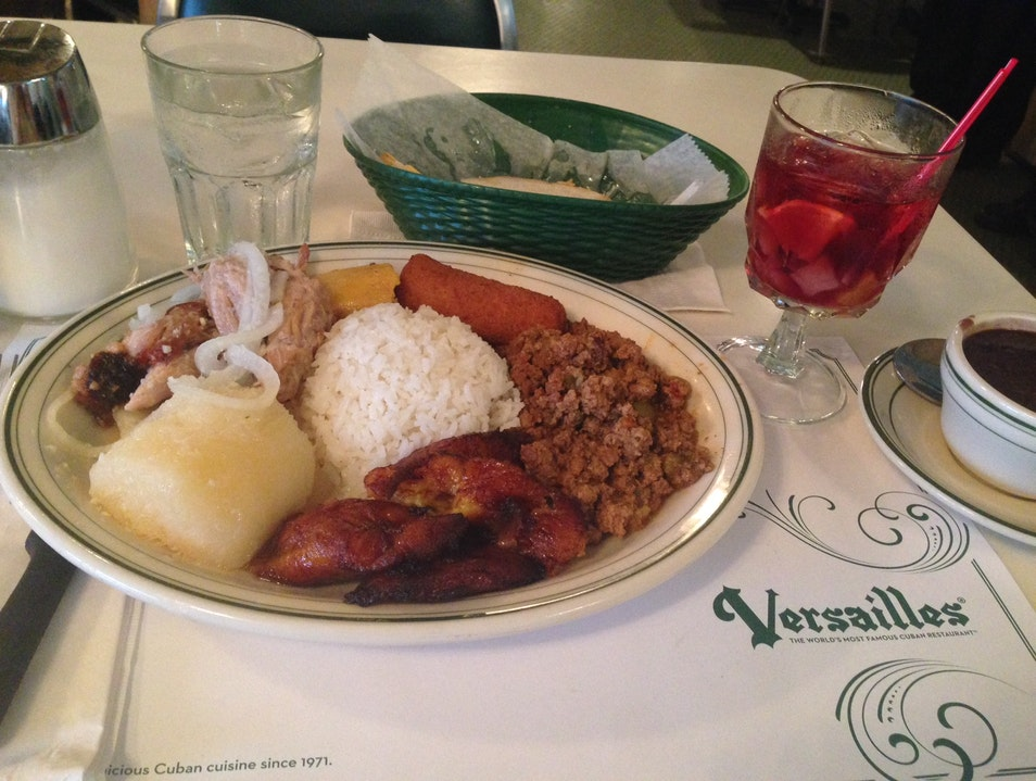 Versailles: World-Famous Cuban Food in Little Havana