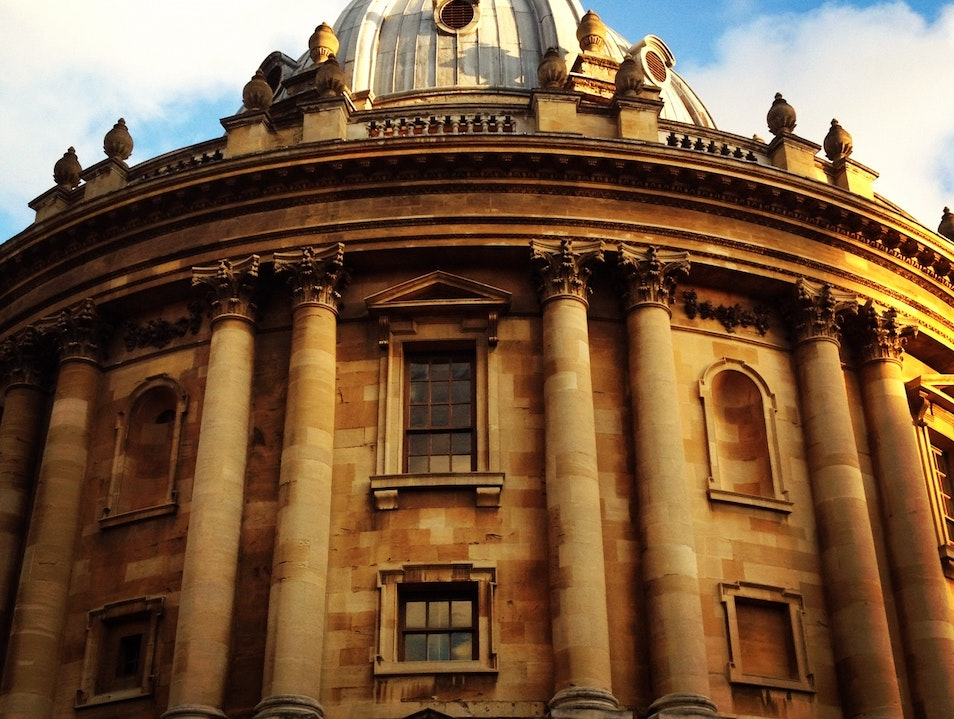 In the Shadow of Radcliffe Camera  Oxford  United Kingdom