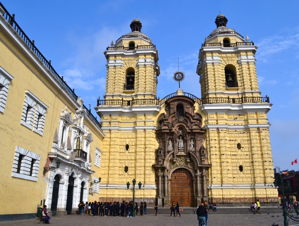 San Francisco Colonial Church Lima  Peru