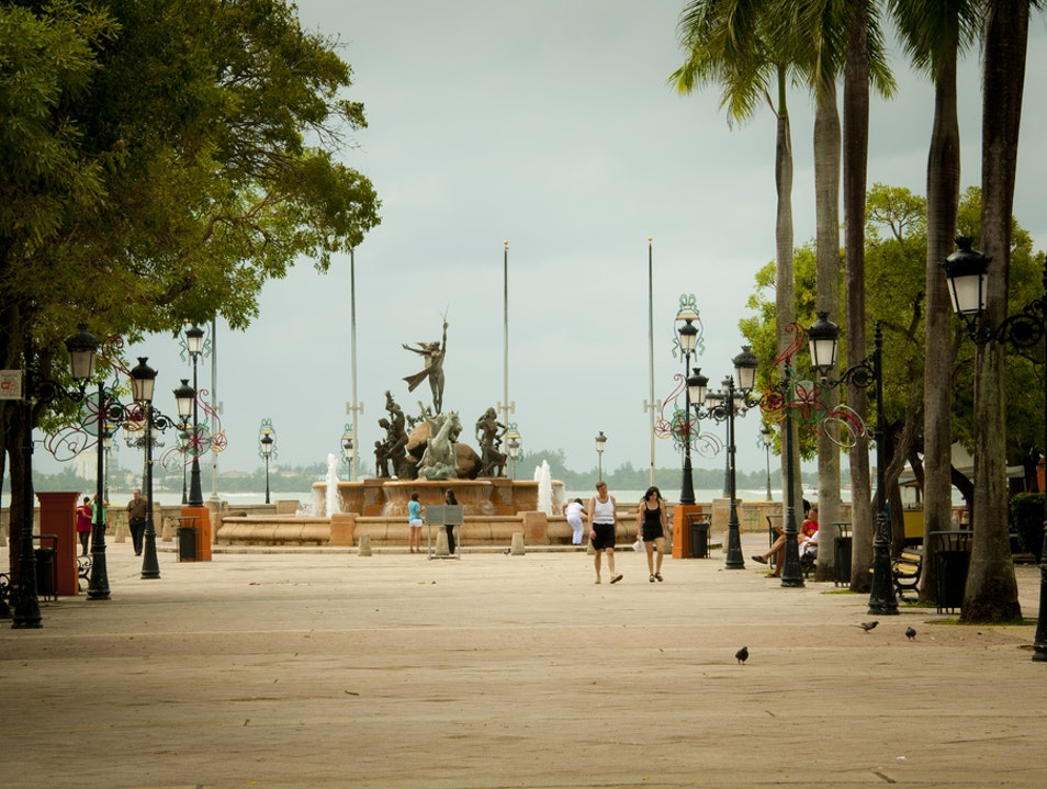 Treat your senses on a walk down a boulevard  San Juan  Puerto Rico
