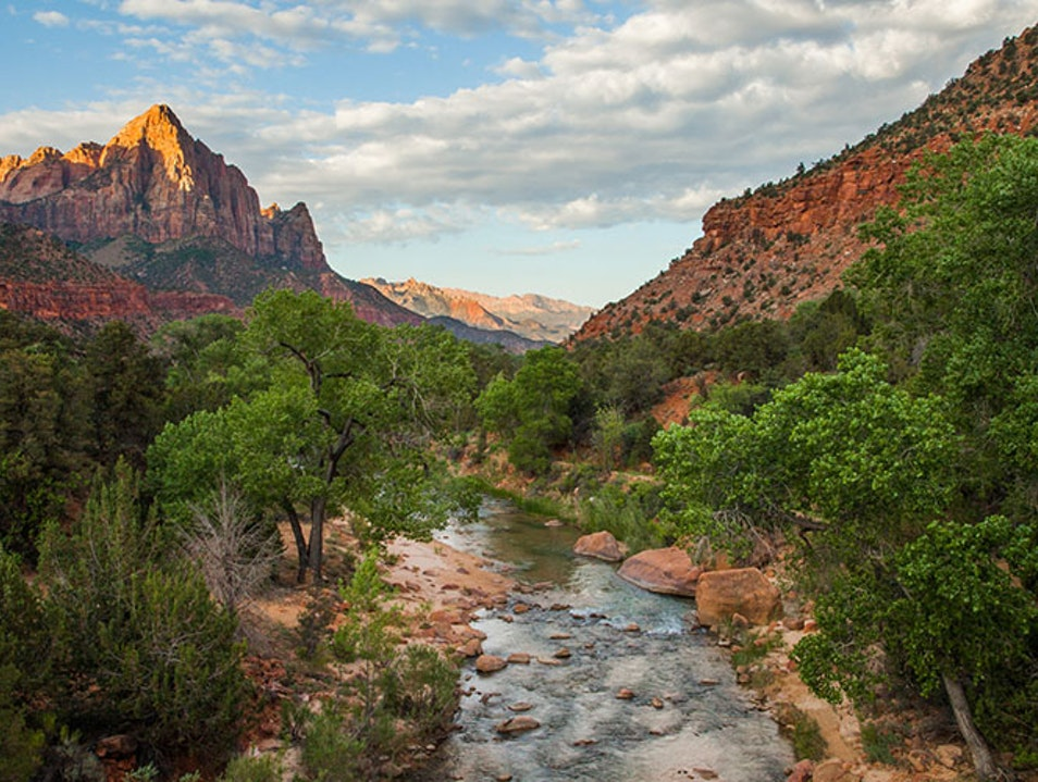 Zion National Park Kanab Utah United States