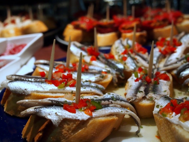It's always tapas o'clock in Girona, Spain