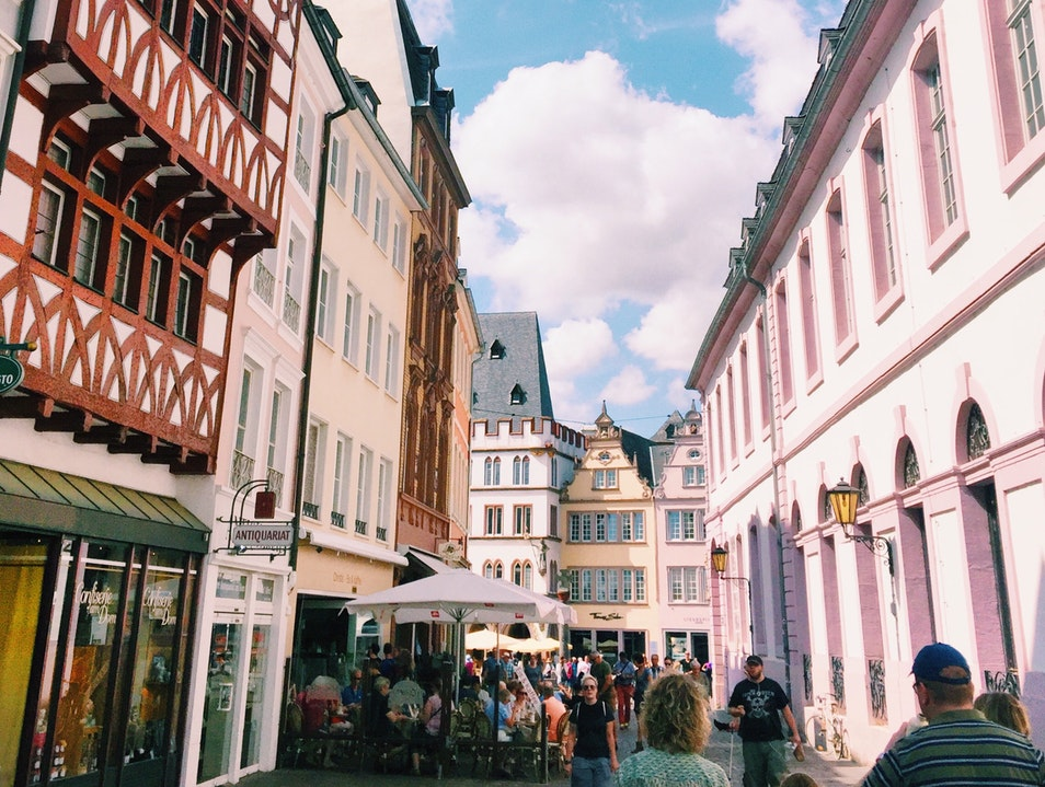 Fairy Tale Town in German Wine Country Trier  Germany