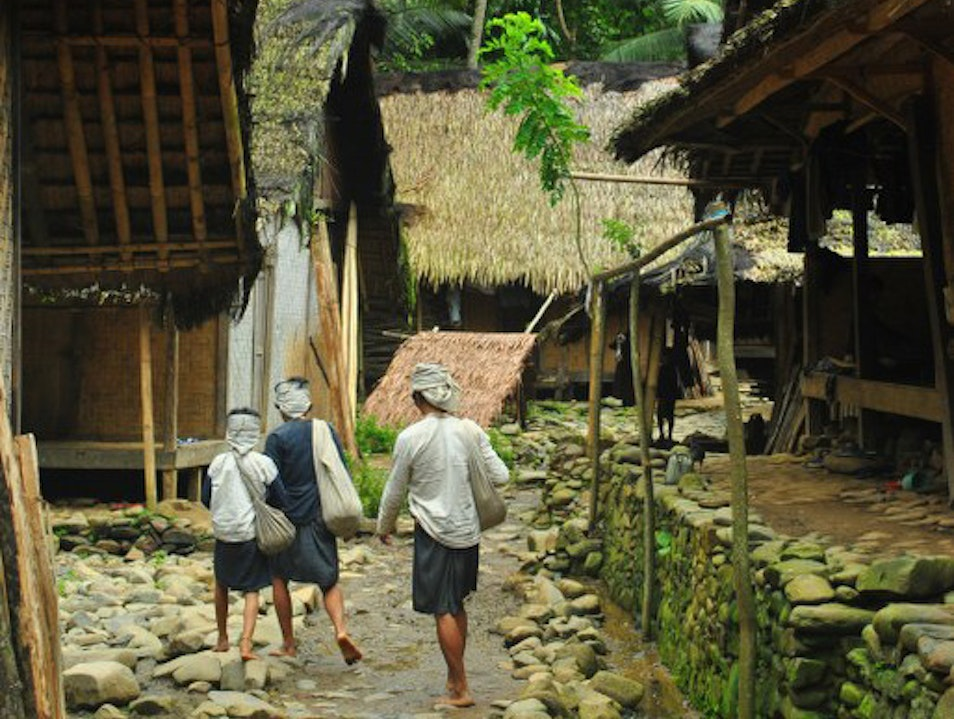 Trekking deeper to the Baduy tribe wisdom. Cikeusik  Indonesia