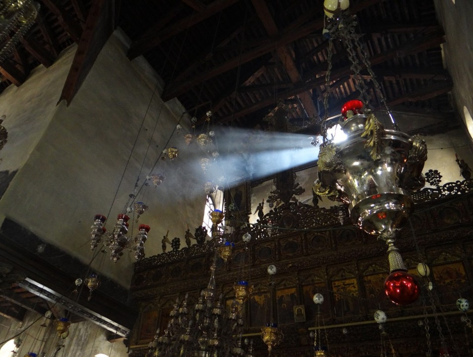 Solace in the Church of the Nativity