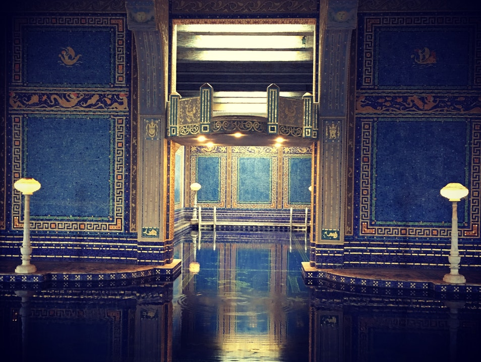 Indoor Pool at Hearst Castle San Simeon California United States