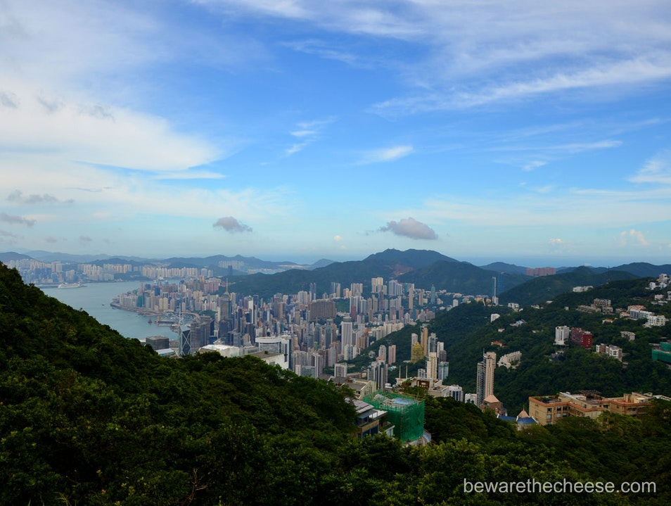 The Real Peak at Victoria Peak Hong Kong  Hong Kong