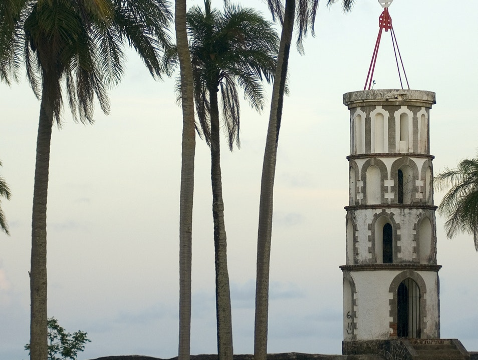 Dreyfus Tower Kourou  French Guiana