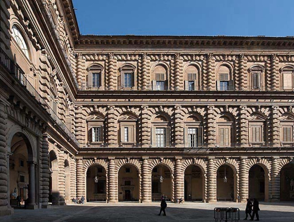 The Pitti Palace Florence  Italy