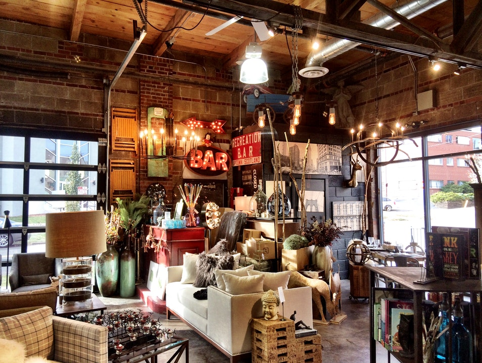 Beautiful Furniture and Decor at Lulu's Denver Colorado United States