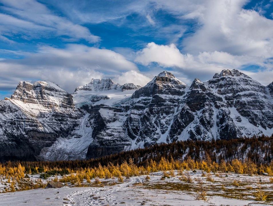 Hiking the Larch Valley