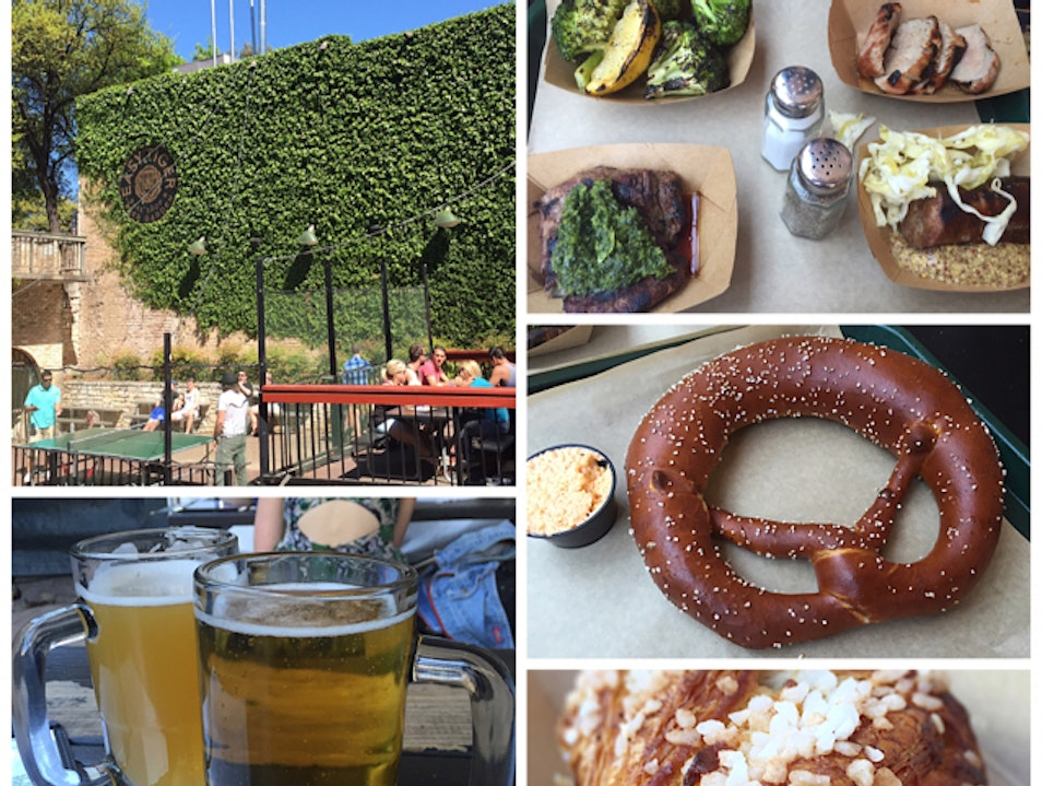 Beer Garden and Baked Goods Austin Texas United States