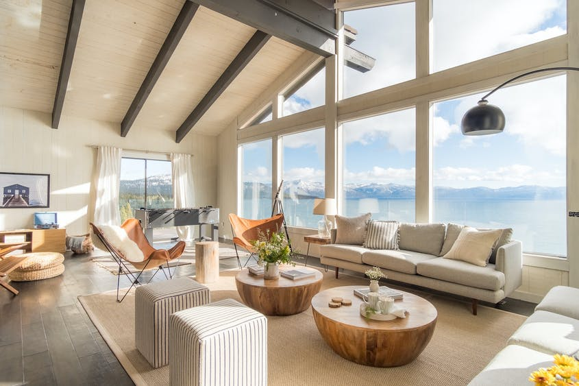 AvantStay tricks out its homes such as this 5-bedroom house, called Lakeview, in Tahoe.