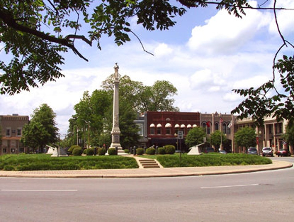 My Hometown's Southern Charm Franklin Tennessee United States
