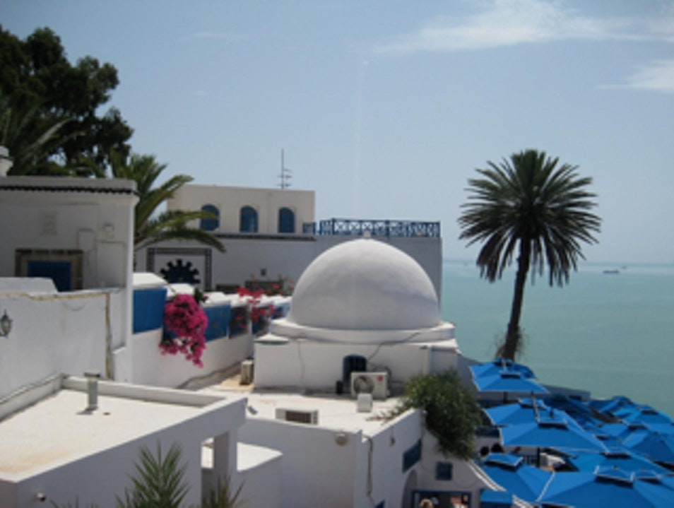 Blue & white Carthago  Tunisia