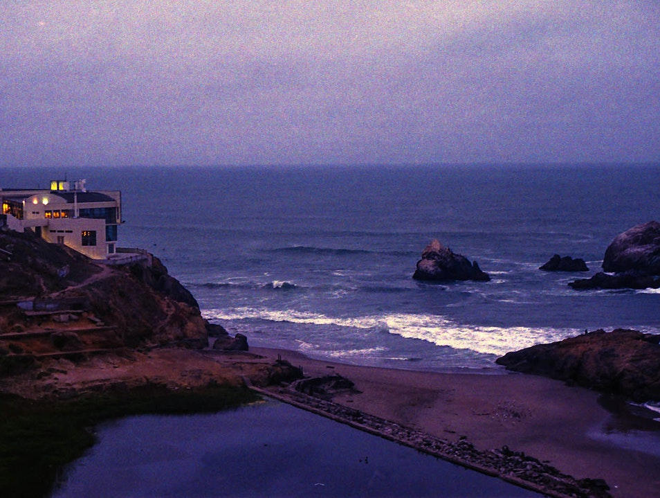 Wandering the Sutro Baths Ruins San Francisco California United States
