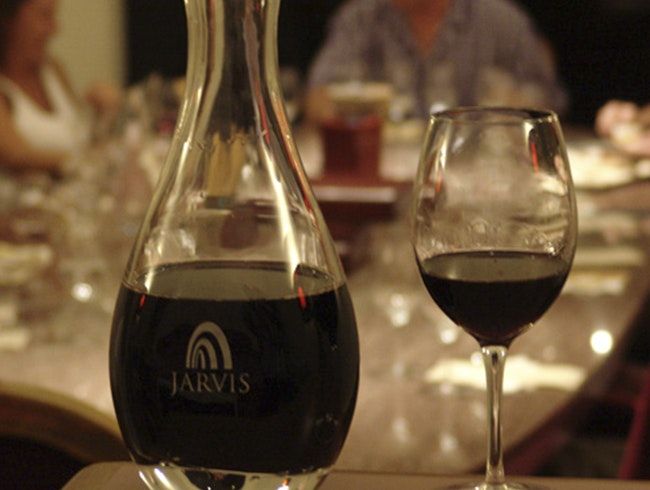 Explore an Underground Winery at Jarvis Estate