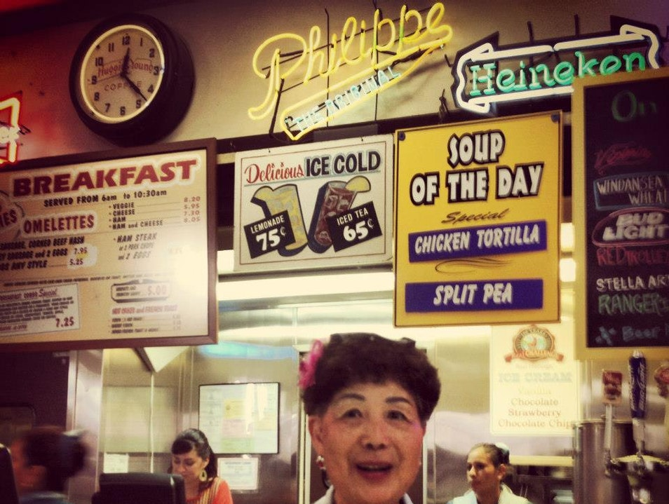 The Best French Dip is in Chinatown Los Angeles California United States