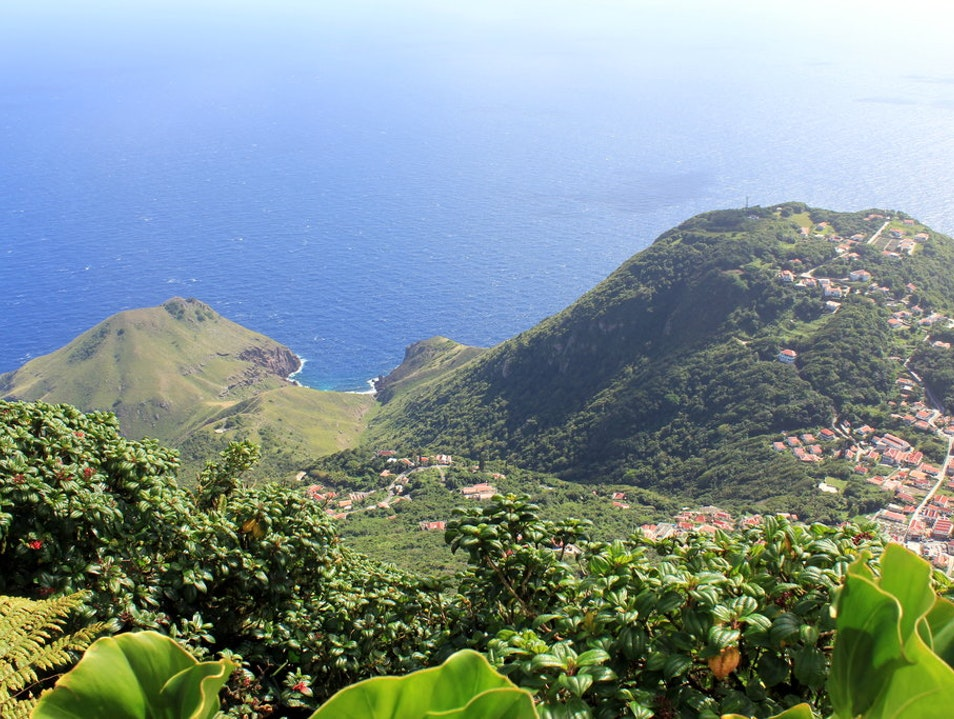 The Hike to the Top of Mt. Scenery Saba  Caribbean Netherlands