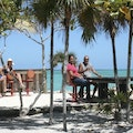 Barracuda Beach Bar Bottle Creek  Turks and Caicos Islands