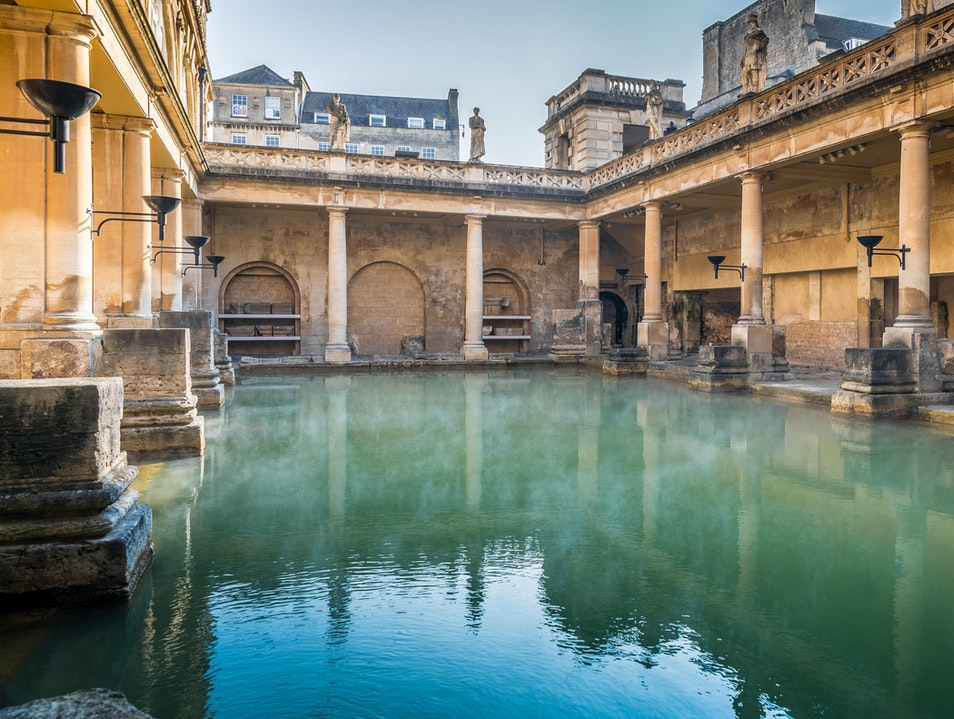 Bath, a great city for history buffs... and Spa lovers! Bath  United Kingdom