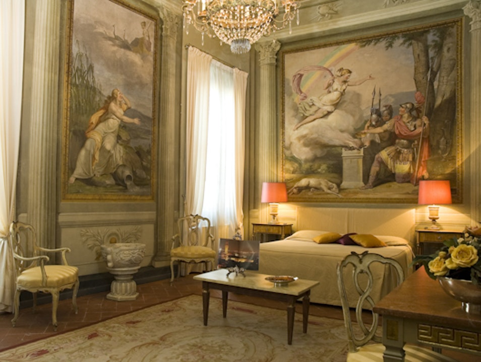 Palatial rooms, great value