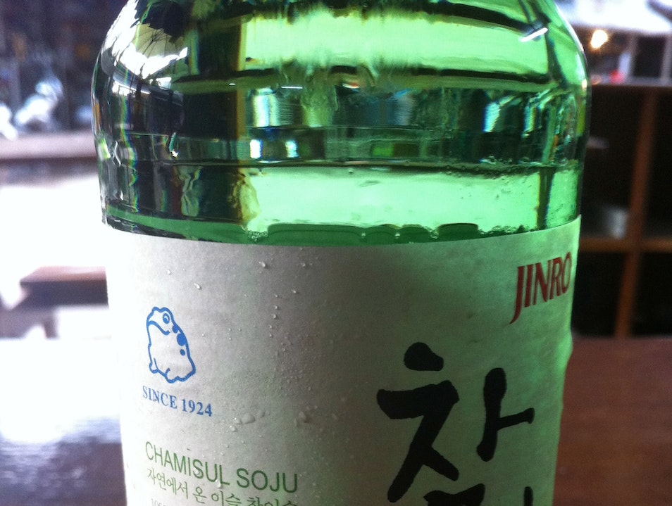 Bottoms Up: Soju in Seoul Seoul  South Korea