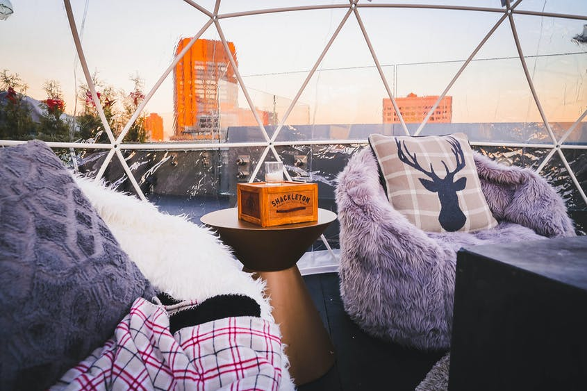 Be transported to Antarctica via the sky-high pop-up at Manhattan's Arlo NoMad.