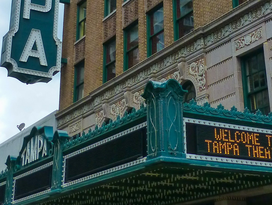 Tampa Theatre: Recapturing the Magic of a Genuine Movie Palace Tampa Florida United States