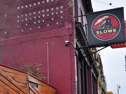 Slows Bar-B-Q Detroit Michigan United States