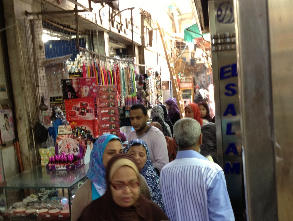 Old Fashioned Murder (and Shopping!) Alexandria  Egypt