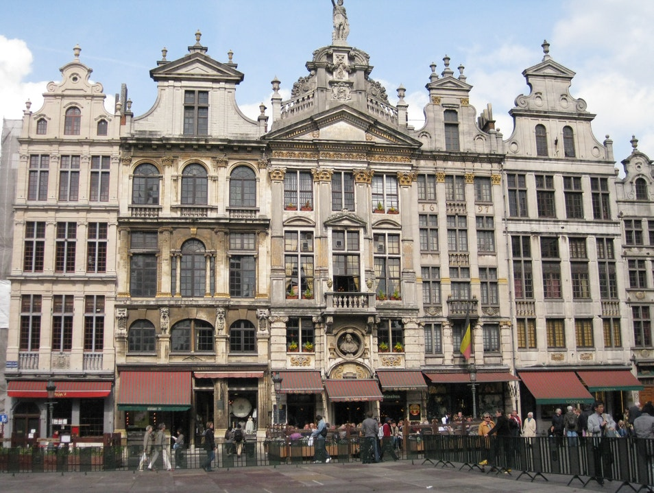 A truly Grand Place in Brussels Brussels  Belgium
